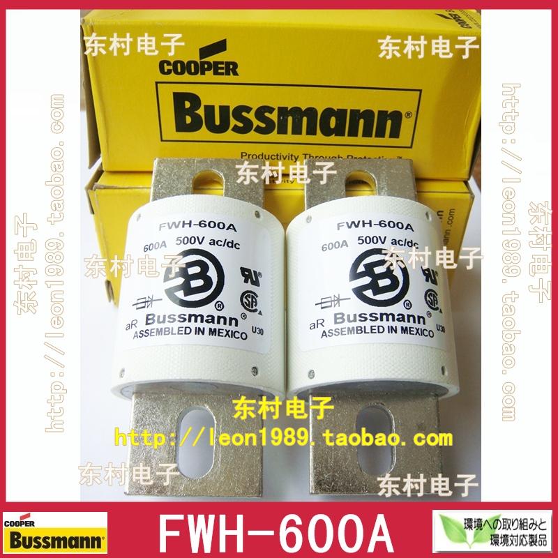 Фотография [SA]Original US imports fuse Bussmann FWH-600A 600A 500V FWH-500A Fuse