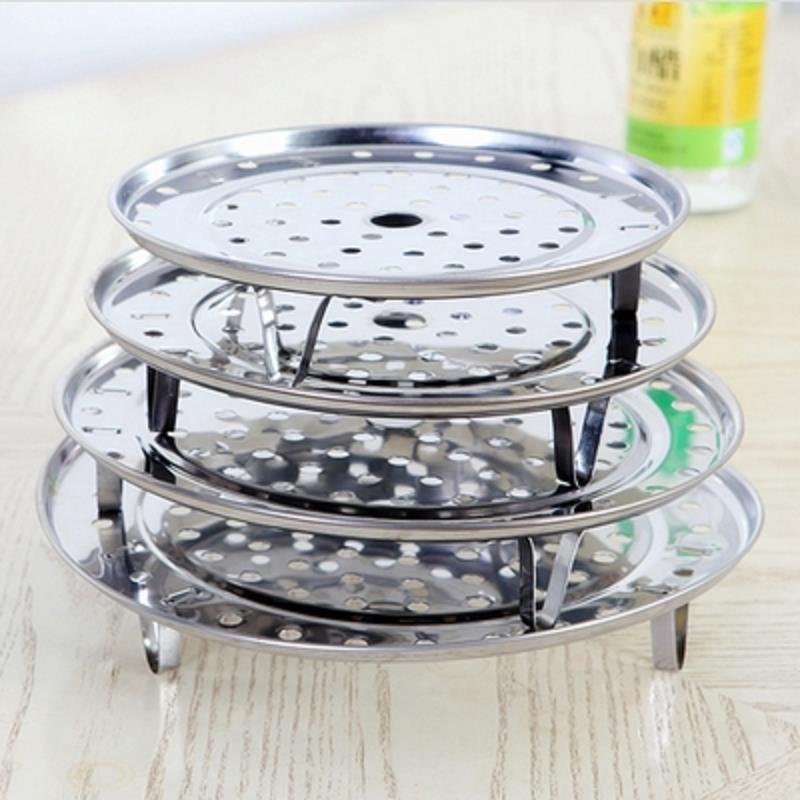 Removable Stainless Steel Steamer Rack Steaming Plate Cookware Tools(China (Mainland))