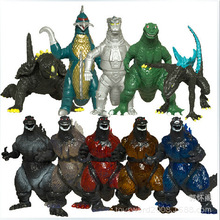 Buy 2014 New Arrival Set 10 New Godzilla Figures Anguirus,Godzilla Jr,10 Monster Dinosaur Toy Model,Free Shipping. for $18.99 in AliExpress store