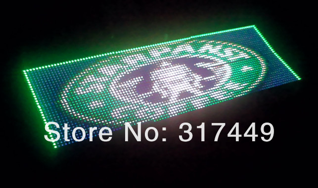 "6MM 30.24"" x 18.9"" , 76.8cm * 48cm,full color LED Sign Program Scroll Indoor message Display free shipping ,aluminum frame(China (Mainland))"