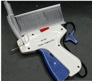 "(Min order$10) Free shipping Quality Guaranteed Garment Price Label Tag Tagging Gun with 1000 2.5"" Barbs"