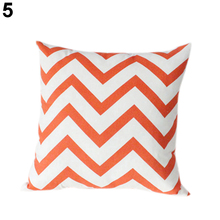 Buy HOT Ripple Chevron Zig Wave Linen Cotton Cushion Cover Home Decor Throw Pillow Case 91SZ for $2.78 in AliExpress store