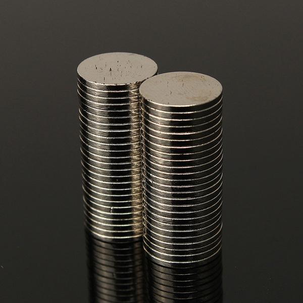 50pcs N50 Strong Disc Round Rare Earth Neodymium Magnets 10mm x 1mm(China (Mainland))