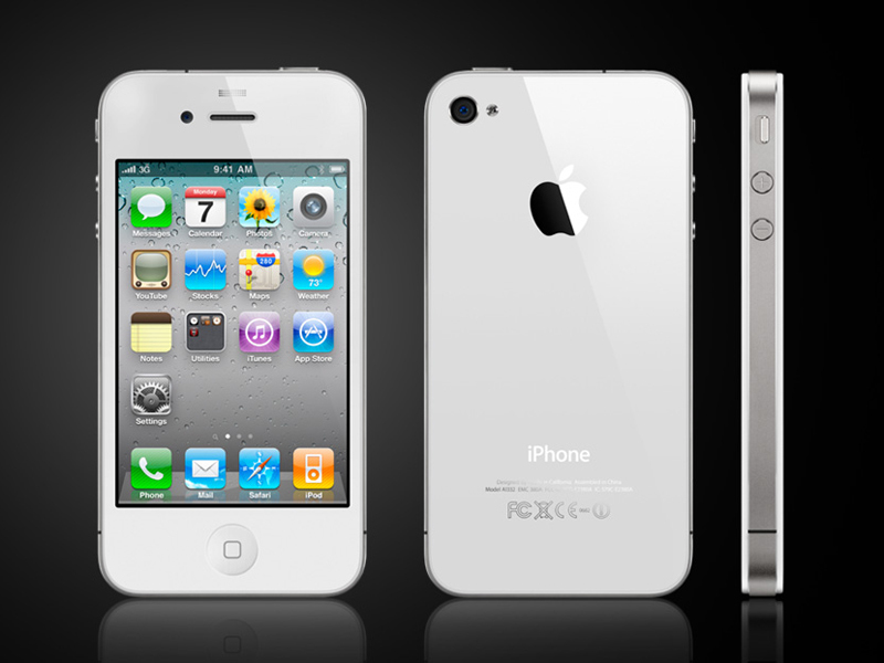 3pcs/lots front & back  clear screen protector for iPhone 4 4S clear screen protective film screen guard with cleaning cloth