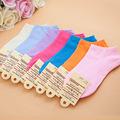 2016 HOT Women Socks Candy Color Women Socks Short Ankle Boat Low Cut Socks Crew Casual