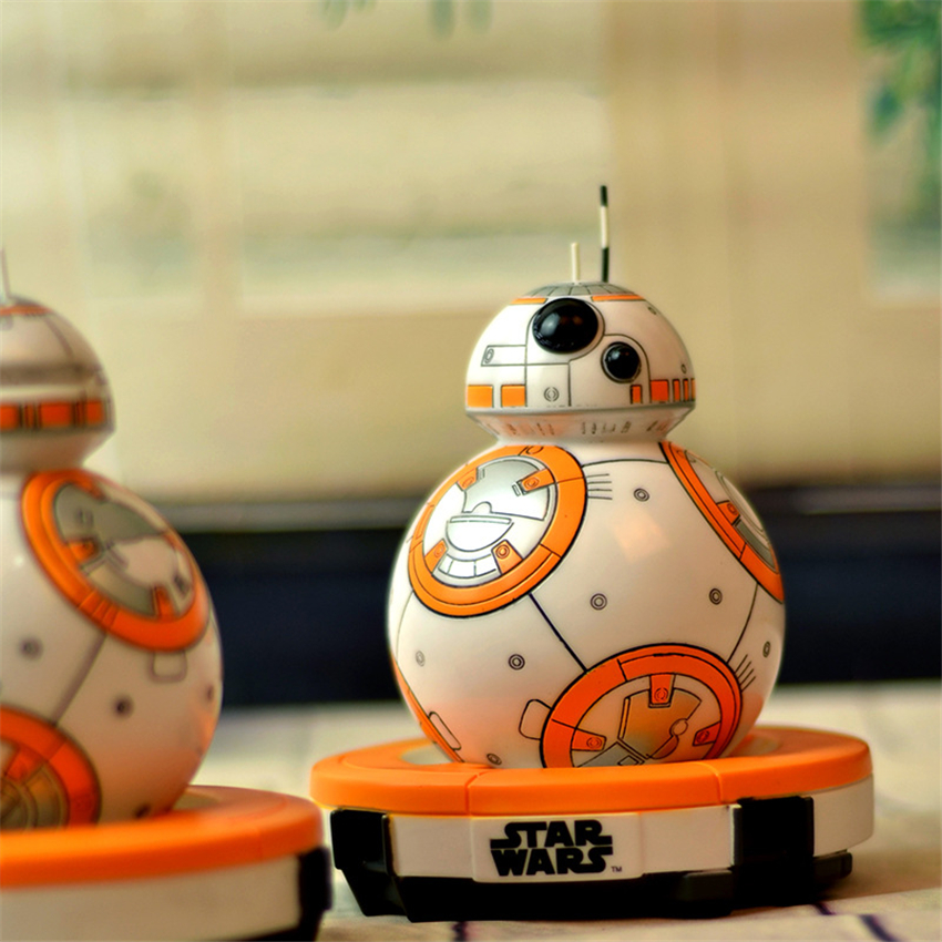 Star Wars The Force Awakens BB8 Action Toy Figure Star Wars BB-8 Model Toys Piggy Bank Star Wars PVC Anime Figures Gift For Kids