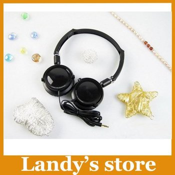 Free shipping MJ21 high quality super bass headphone  stereo headset  with retail box!