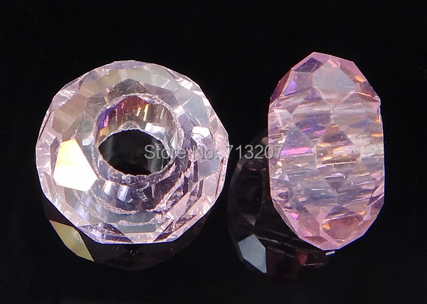 Free shipping!!!European Crystal Beads,australian, Rondelle, without troll, Vintage Rose, 8-9x14-15mm, Hole:Approx 6mm<br><br>Aliexpress