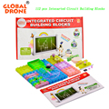 GLOBAL DRONE 120 ProjectsDIY Kits Integrated circuit building blocks snap circuit kit FM Radio experiments kids