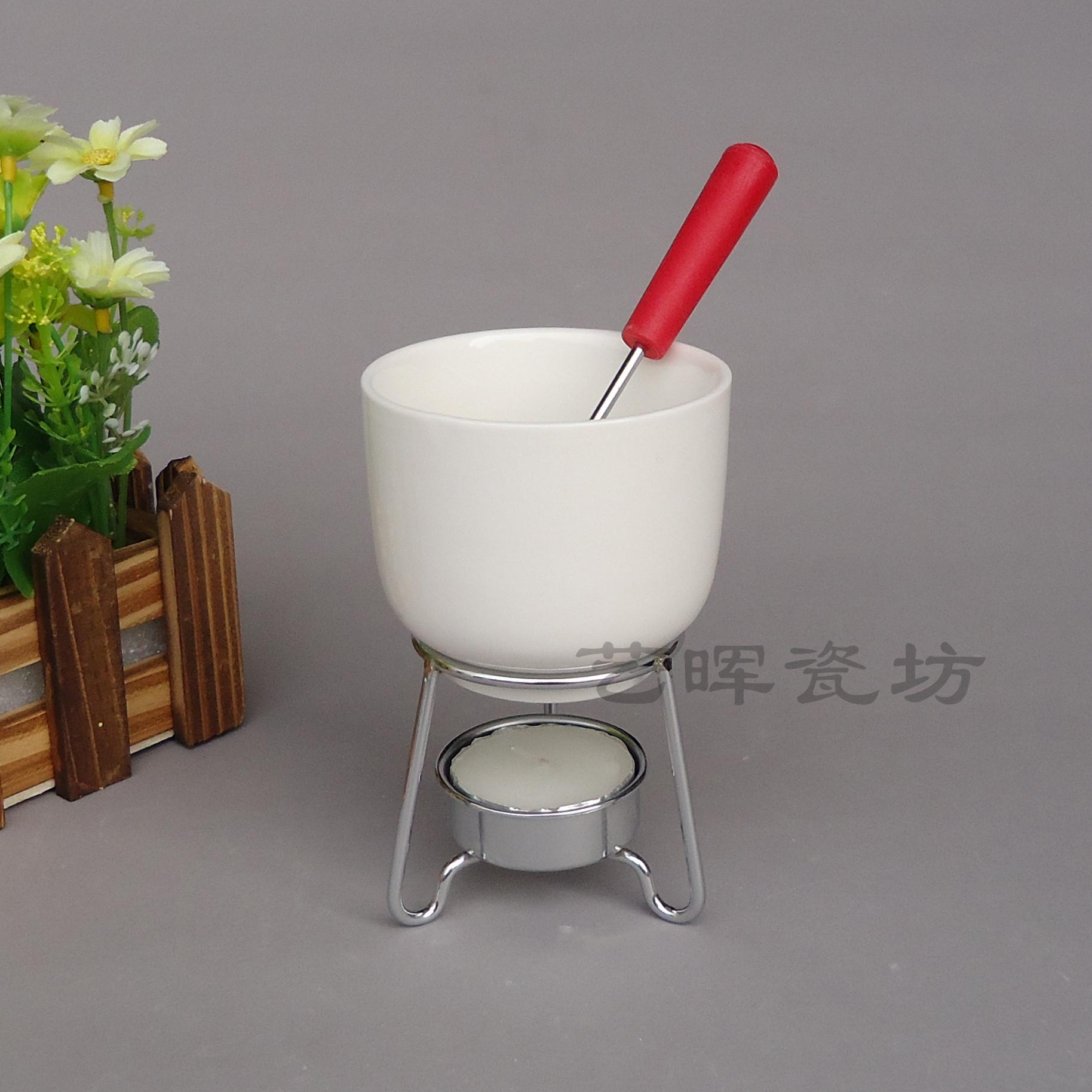 Melting Chocolate Pots