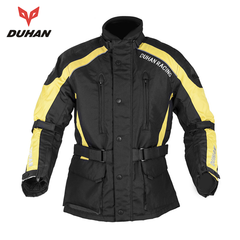 DUHAN Motorcycle Enduro Racing Jacket Five Protecter Gear Travel Riding Dirt Bike ATV Motocross Off-Road Jaqueta Clothing - JACKY PENG's store