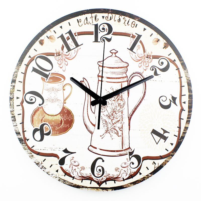 Wholesale 12 Unique Kitchen Wall Clock Modern Design