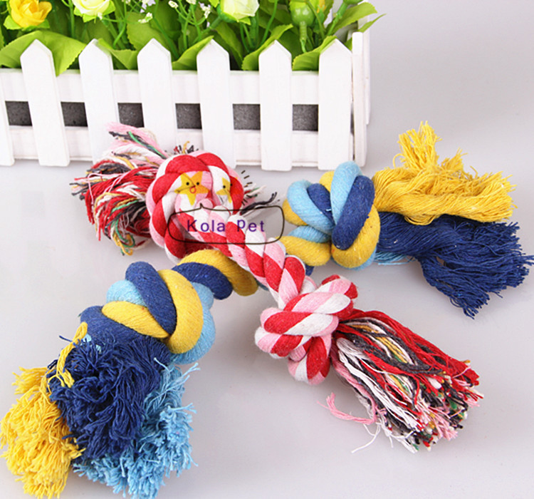 Dog's chew toys,cotton rope toys for pets, cat/dog toys, dog chewing rope toys(China (Mainland))