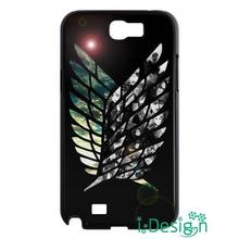 Fit for Samsung Galaxy mini S3/4/5/6/7 edge plus+ Note2/3/4/5 skins cellphone case cover Japanese Anime Attack on Titan Cool