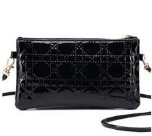 2015 new women bags clutch bag packet Lingge Messenger bag