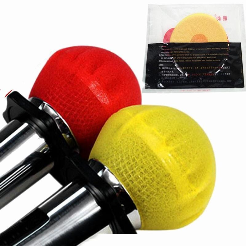 SUPVOX 5 unids 36mm Micr/ófono cubierta de espuma Micr/ófono de mano Parabrisas Cubierta de espuma Protector Blindaje Esponja Micr/ófono Caps