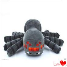 2015 New Arrival Minecraft Plush Toys 16CM Gray Spider Plush