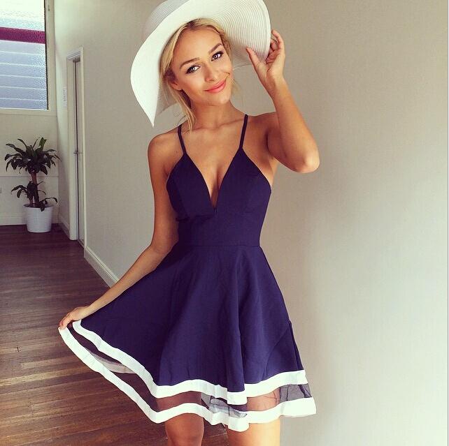 Женское платье Brand New 2015 v/vestidos D04