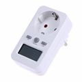 High quality Digtal Energy Meter Socket Plug in Electric Power Meter Energy Monitor LCD Display EU