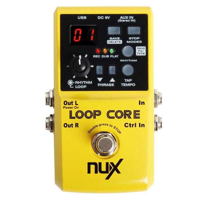 Aliexpress.com : Buy NUX Loop Core Guitar Effect Pedal 40 built in ...