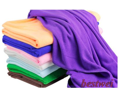Plus Size Ultrafine Fiber Bath Towel Soft Adult Child Microfiber Super Absorbent Shower Towels 70*140cm - BEST WEI TRADING CO., LIMITED store