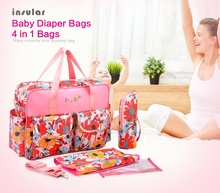 High Quality multifunctional mama bags maternity baby diaper bags diaper mummy maternity handbag baby cloth diaper wet bag