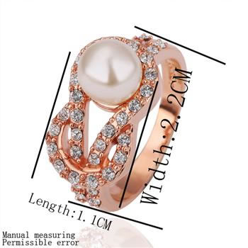 product 18K gold plated ring fashion ring Genuine Austrian crystals italina ringNickle free antiallergic factory prices iwv nte GPR140