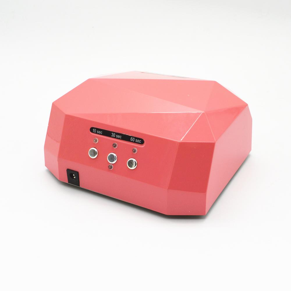 36W UV Lamp Nail Dryer LED Ultraviolet Lamp for Nails Diamond Shaped Nail Lamp CCFL Curing for UV Gel Polish Nail Art Tools(China (Mainland))