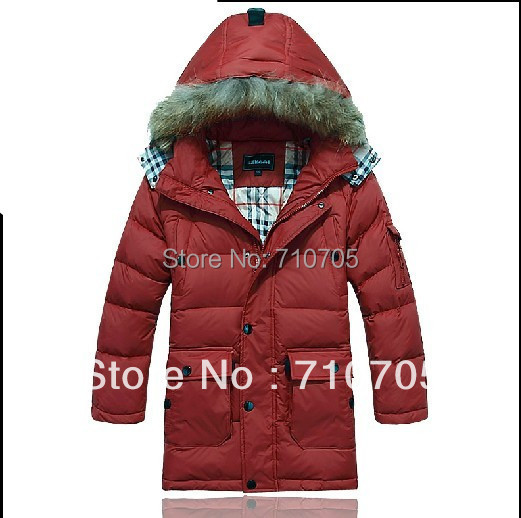 Free shipping 2013 Children Down Boy Down Thick down jacket Winter clothing Warm coat<br><br>Aliexpress