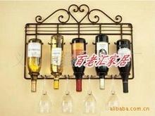 Пастырское железный вино / винный шкаф / черный / стена / европейский винный шкаф вина уход за кожей