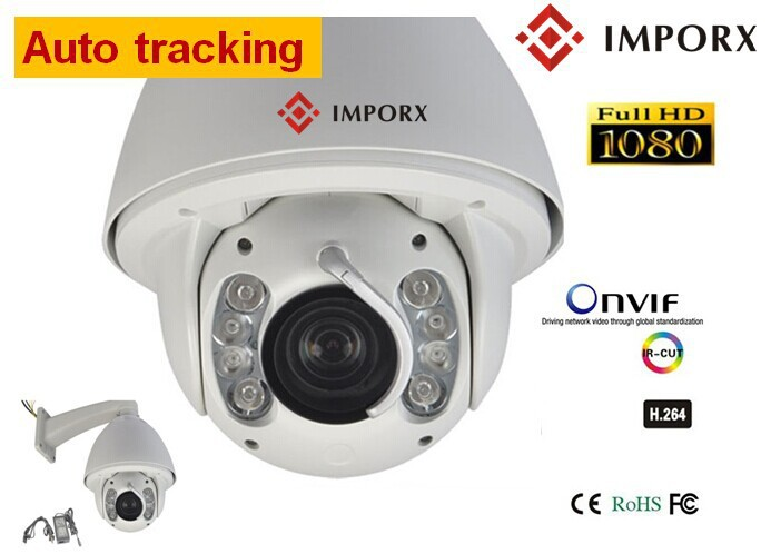 Auto Tracking 2MP SONY cmos 20x Zoom PTZ IR CCTV Security Camera Surveillance Dustproof Waterproof Wiper built-in Heater&FAN(China (Mainland))