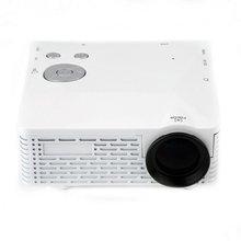 High Quality 1set Mini LED Projector with USB SD VGA HDMI AV Multimedia with Remote Control White EU/US Plug(China (Mainland))