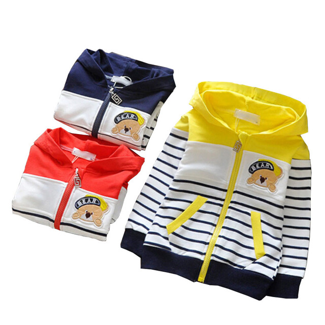 Одежда для Новорожденных Baby мальчиков Толстовка Флис Дети Толстовки 2016 Весна и Осень Кошка детская Одежда Детская Одежда