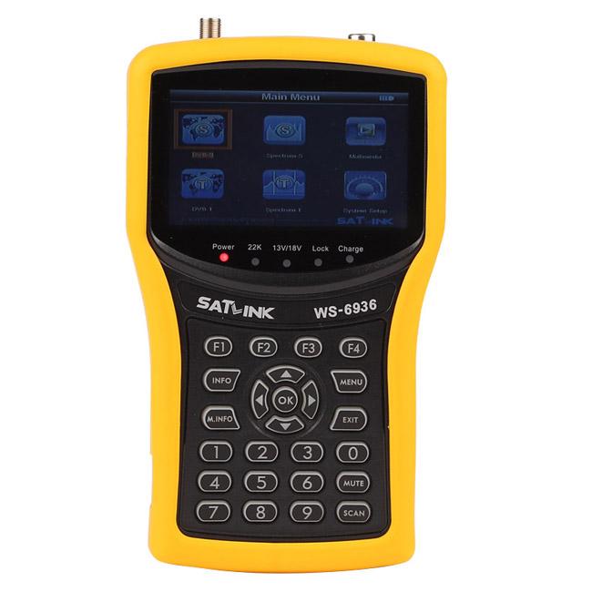 Satlink WS-6936 DVB-T&amp;DVB-S Combo Meter with Spectrum Meter Satlink 6936 ws6936 meter 6936<br><br>Aliexpress