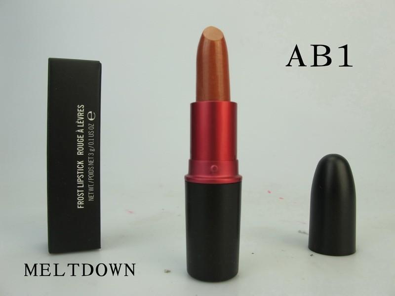 Luster Lipstick 24 colors lipstick lip gloss blue Lipstick 3.g High quality makeup 3g! wholesale (3 PCS/LOT)(China (Mainland))