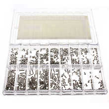 Hot Sale Excellent Hot Sale 900x Stainless Steel Tiny Screws Kit Tools For Glasses Watches Clock Repair  Brand New