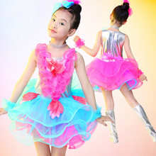 Buy Children Latin Dance Dress Kids Samba Salsa Dresses Competition Dress Girls Ballroom Dance Wear Stage Costume Performance 89 for $25.99 in AliExpress store
