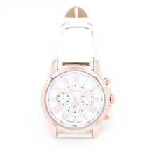 New Roman Numerals Women's Quartz  Watch Faux Leather Reloj Mujer  Jecksion