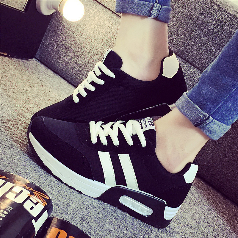 2016 Fashion Summer New  Free Shpping  Women shoes Air mesh casual woman shoes Lace-Up Flat with England Height Increasing F344 <br><br>Aliexpress