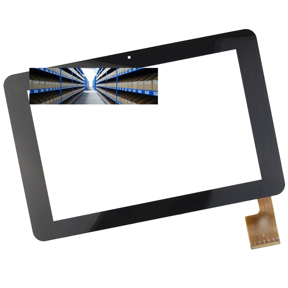 Brand New 10.1 Inch Black Touch Screen TPC0323 VER1.0 for Sanei N10 AMPE A10 quad Core Tablet PC Replacement(China (Mainland))