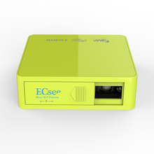 ECsee ES130 854X480 Full HD1080P DLP LED Projector 800 lumens Household Mini Portable Projector Input USB