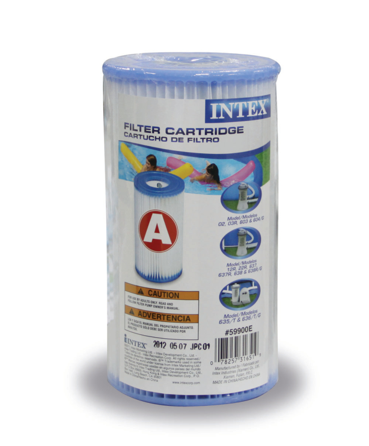 Гаджет  INTEX Original Family Swimming Pool Filtration Pool Filter Cartridge 2pcs Type A None Бытовая техника