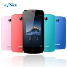 "Original DOOGEE X3 4.5"" HD Smartphone Android 5.1 MT6580 Quad Core 1GB + 8GB 5MP 1800mAh Dual SIM OTA 3G WCDMA Mobile Cell Phone(China (Mainland))"