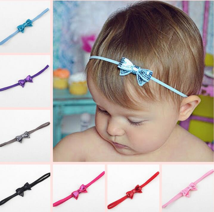 Modern Infant Baby Girls Headbands Adjustable Flower Headband For Kids party birthday Hair Band Toddler Hair Accessories(China (Mainland))