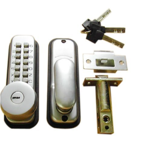 Free Shipping  KEY Mechanical Digital Door Lock