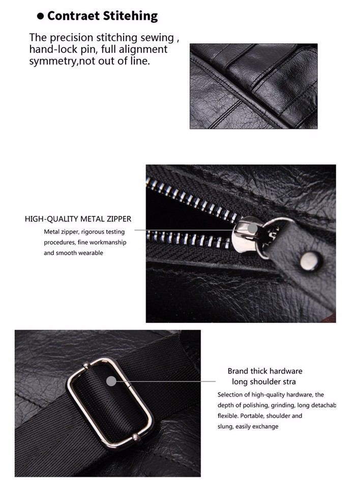 ซื้อ ใหม่หนังแท้ผู้ชายของMessengerกระเป๋ายี่ห้อออกแบบกระเป๋าเอกสารกระเป๋าแฟชั่นวินเทจผู้ชายกระเป๋าสะพายc rossbody