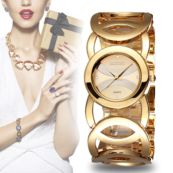 WEIQIN Crystal Gold Watch