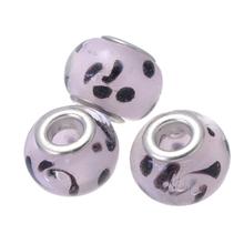 5pcs/lot Jewelry Making 2016 Murano Bead Europe DIY Bracelet Jewelry Beads Girl DIY Silver Italy Murano Glass Beads(China (Mainland))