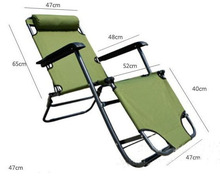 2014 настоящее tumbona кушетки досуг двойного назначения складной стул кровать пляж на открытом воздухе / бассейн лежа