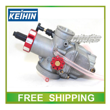 Motorcycle GY6 JOG RSZ scooter carburetor KEIHIN 28mm pwk PE28 racing power performance carburetor hand choke free shipping